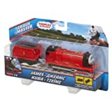Fisher Price BML08 Thomas&Friends - Trenino Tack Master Motorized, James, Multicolore