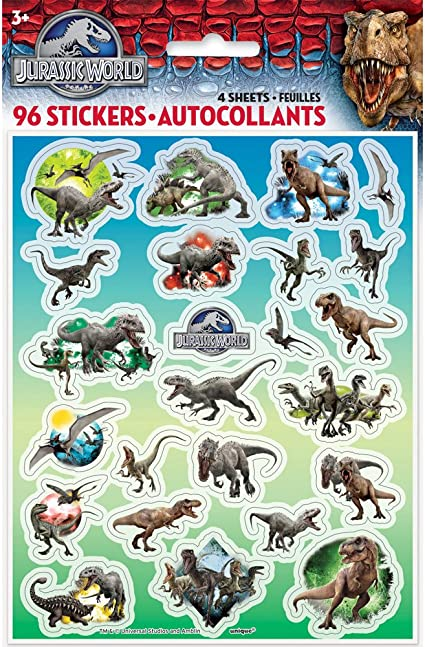 Animal World Stickers 3d Puffy Favors/&Party Kids/' Crafts Favor Stickers Lot 2020