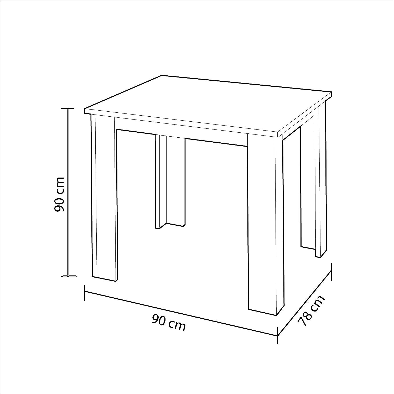 Habitdesign Easy Home Mesa Granada A5 Blanco
