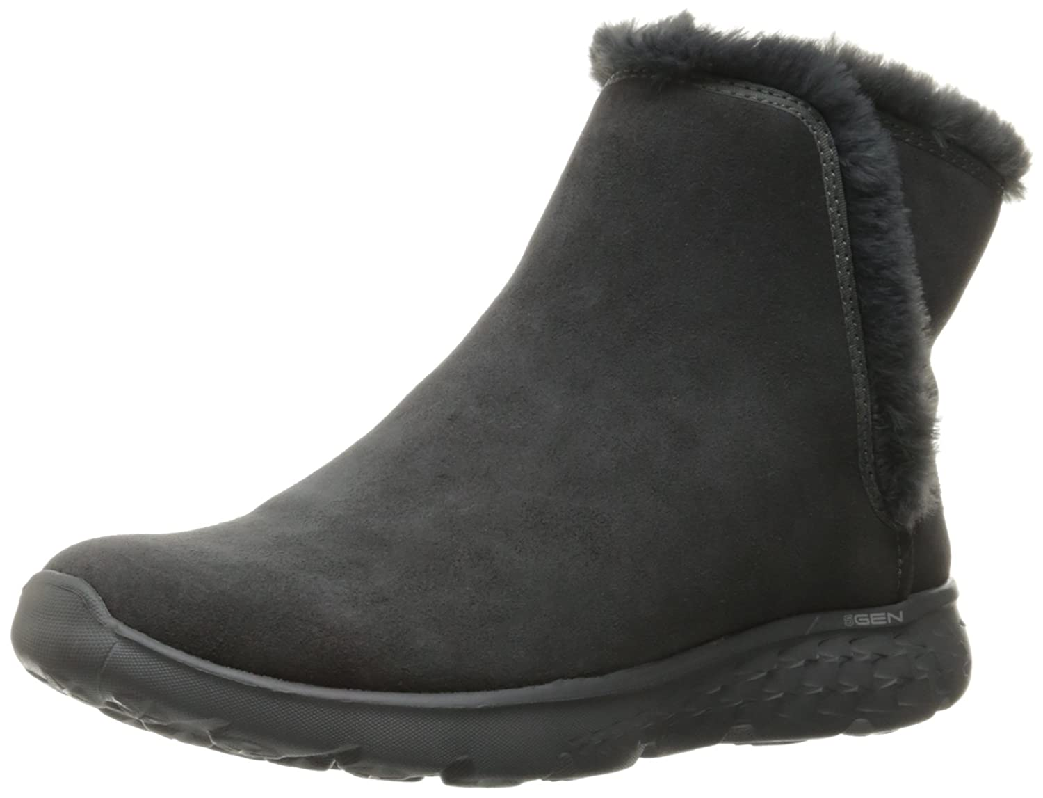 Skechers Damen Stiefel gefuuml;ttert On-the-Go 400 Blaze Grau  36 EU