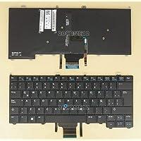 FidgetFidget New For DELL Latitude E7240 E7440 Keyboard Backlit Pointer Latin Spanish Teclado