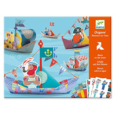Djeco : Origami - Boat on The Water: Toys & Games