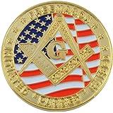 Masonic Exchange California Freemason Faith Hope Charity Commemorative Coin