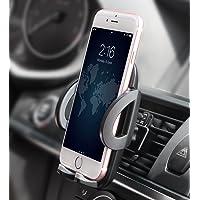 Telefonhållare, Quntis biltelefonhållare universell luftventil bilvagga 360 graders rotation justerbar bilhållare för…