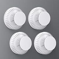 Luxear Zuignap haken set van 4 stuks zonder boren, vacuüm zuignap haken verwijderbaar, zuignappen haken opslag…