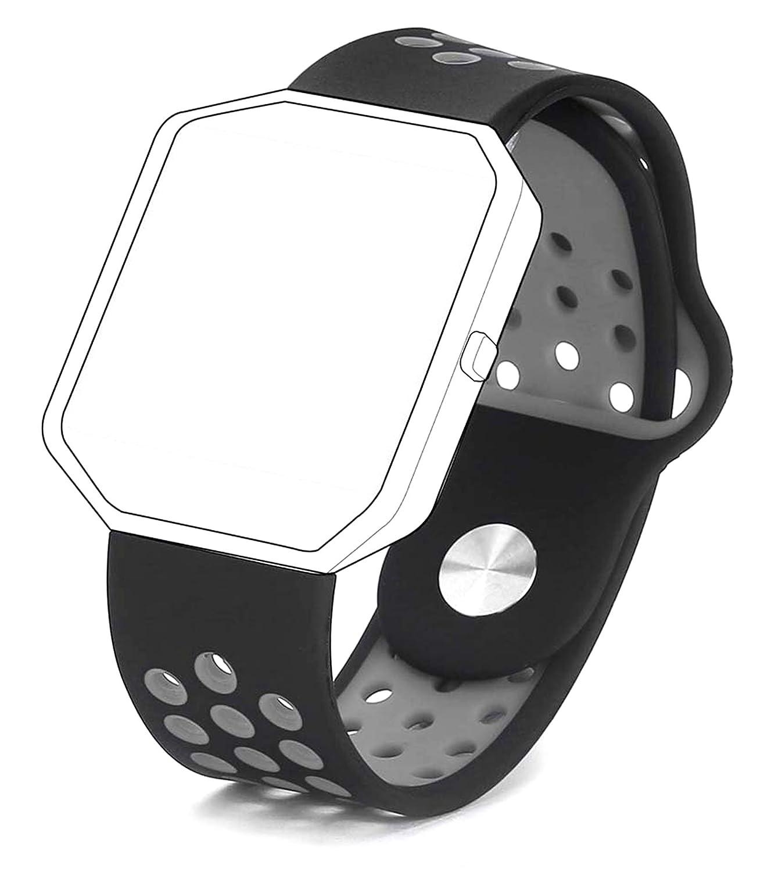 Fitbit Blaze Correa,Vandarui carcasa blanda de TPU silicona ajustable Deporte Correa De Banda De Repuesto Para Pulsera Fitbit Blaze SmartWatch Heart ...