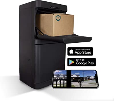Amazon Com Danby Dpg37b Parcel Guard The Smart Mailbox Protects Parcels From Porch Pirates Weather Damage Anti Theft Drop Slot Motion Activated Camera Tamper Alarm Wi Fi Smart App Enabled