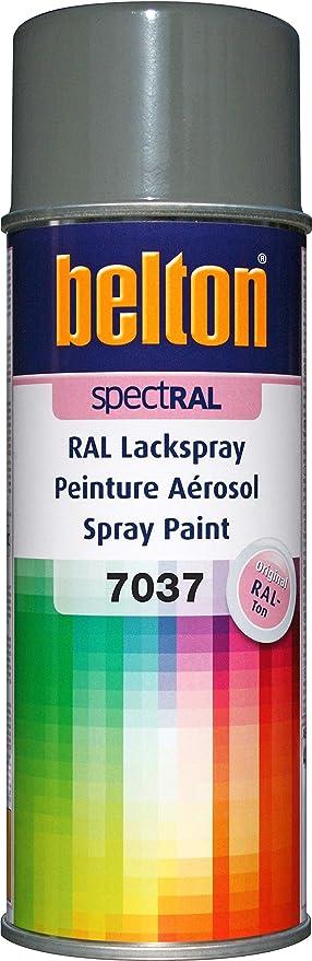 Belton Spectral Lackspray Ral 7037 Staubgrau Glänzend 400 Ml Profi Qualität Baumarkt