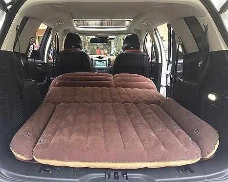 9d9494761 XIAPENGCoche Inflable Cama colchón de Coche Trasero Fila Cama de Viaje  Asiento Trasero del Coche SUV