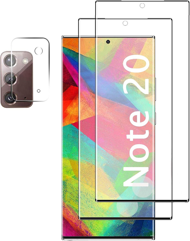 Vidrio templado para Samsung Galaxy note 20 (2 unidades)
