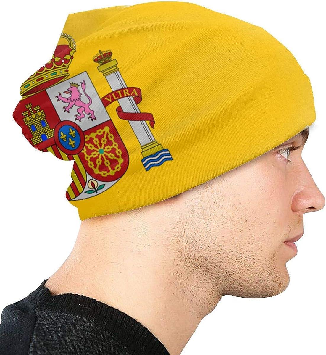 Sombreros de Punto Beanie para Hombres y Mujeres Gorras de Calavera Bandera de España Gorros cálidos Gorro de esquí de Punto: Amazon.es: Ropa y accesorios