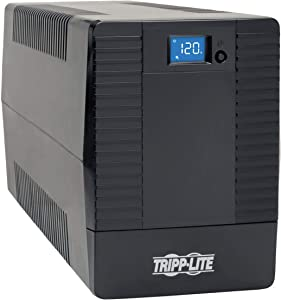 Tripp Lite UPS Smart Tower 1200VA 600W Battery Back Up Desktop Avr LCD USB (OMNIVS1200LCD)