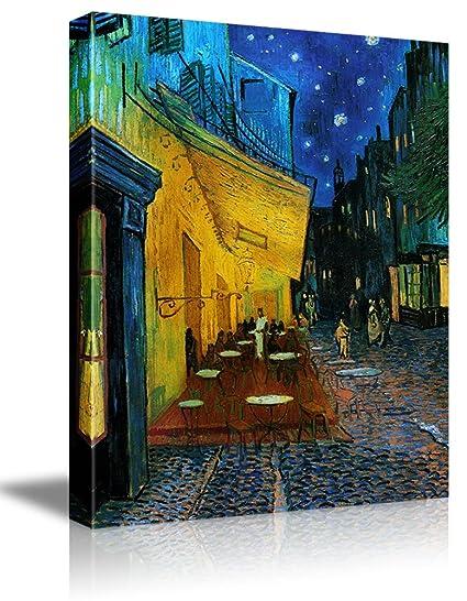 Cafe Terrace At Night Vincent Van Gogh