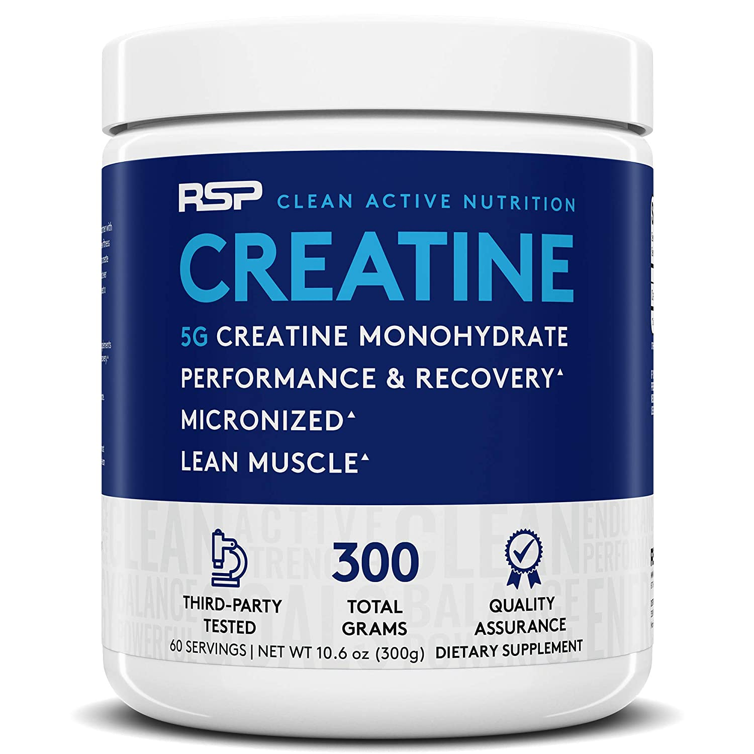 Buy RSP Nutrition Creatine Monohydrate Pure Micronized Creatine ...