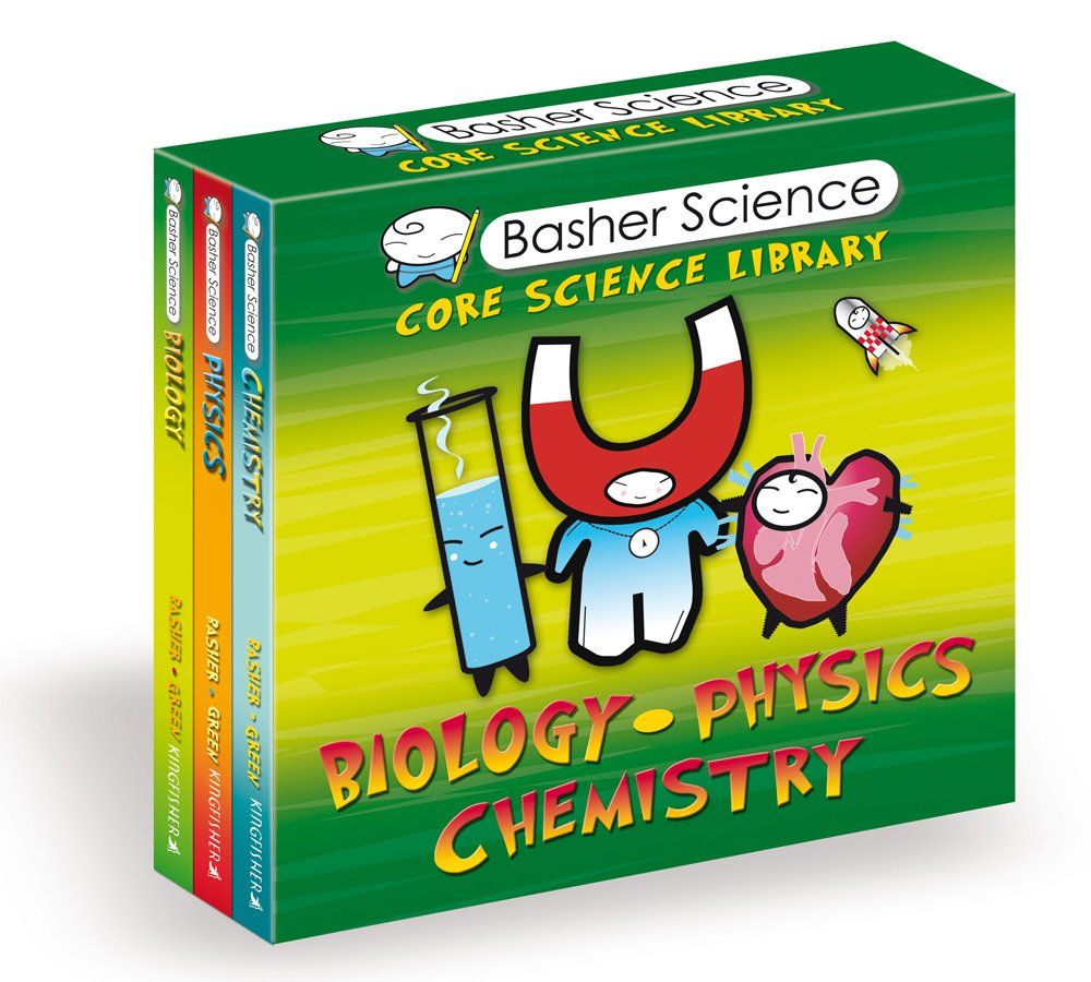 Basher science core science library 3 copy boxed set simon basher science core science library 3 copy boxed set simon basher dan green 9780753466520 amazon books gamestrikefo Gallery