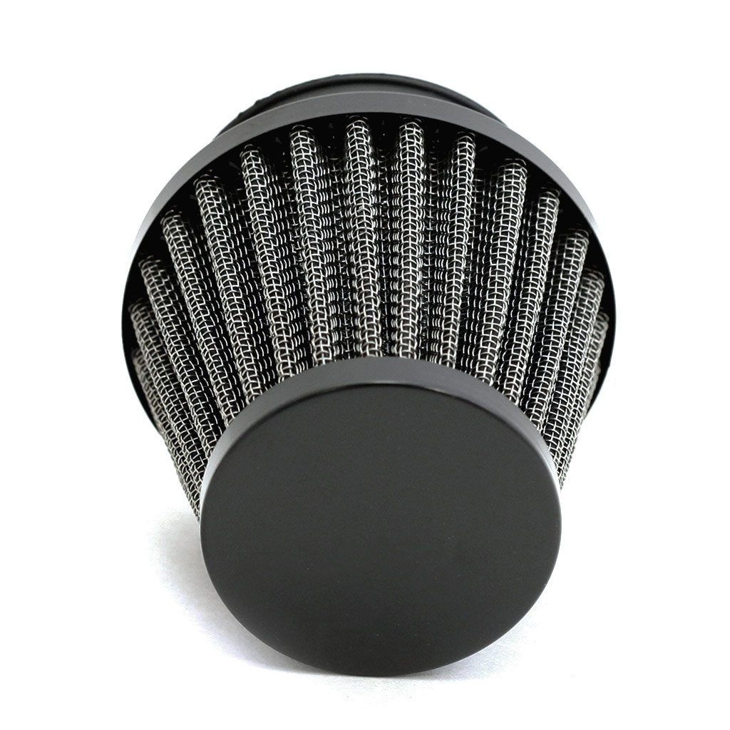 54mm 2 1 8 Kn Style Motorcycle Air Filter Pod Black 95 Honda Shadow Aero 750 Wiring Diagram Automotive