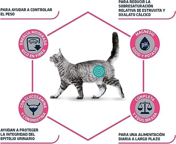 ADVANCE Veterinary Diets Urinary Low Calorie - Pienso para Gatos con Problemas Urinarios- 7,5kg