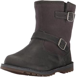 8c045b395f6 Amazon.com | UGG K Harwell Boot, Black, 6 M US Big Kid | Boots