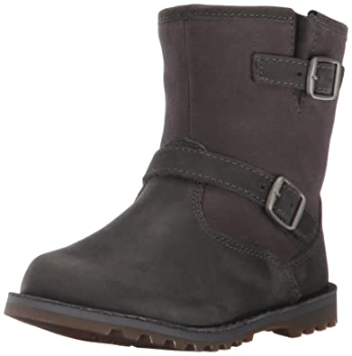 12ce838026b UGG Kids T Harwell Boot, Charcoal, 11 M US Little Kid
