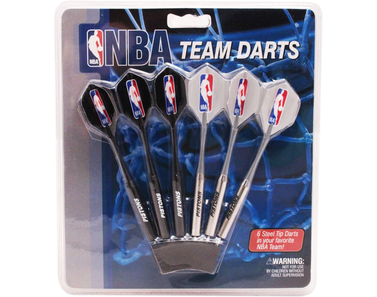 NBA Detroit Pistons Darts & Flights by Imperial