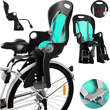 Fahrradtasche Trotz Kindersitz