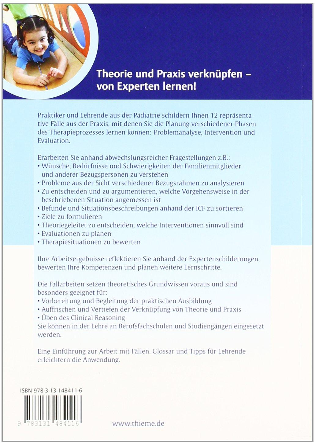 Fallbuch zur Ergotherapie in der Pädiatrie Fallbuch Ergotherapie ...