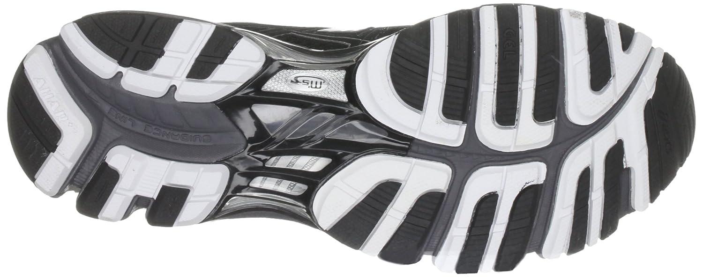 Asics Gel Kayano 18 Chaussures Pour Hommes Noir / Onyx / Blanc 4v0ItQ6EMd