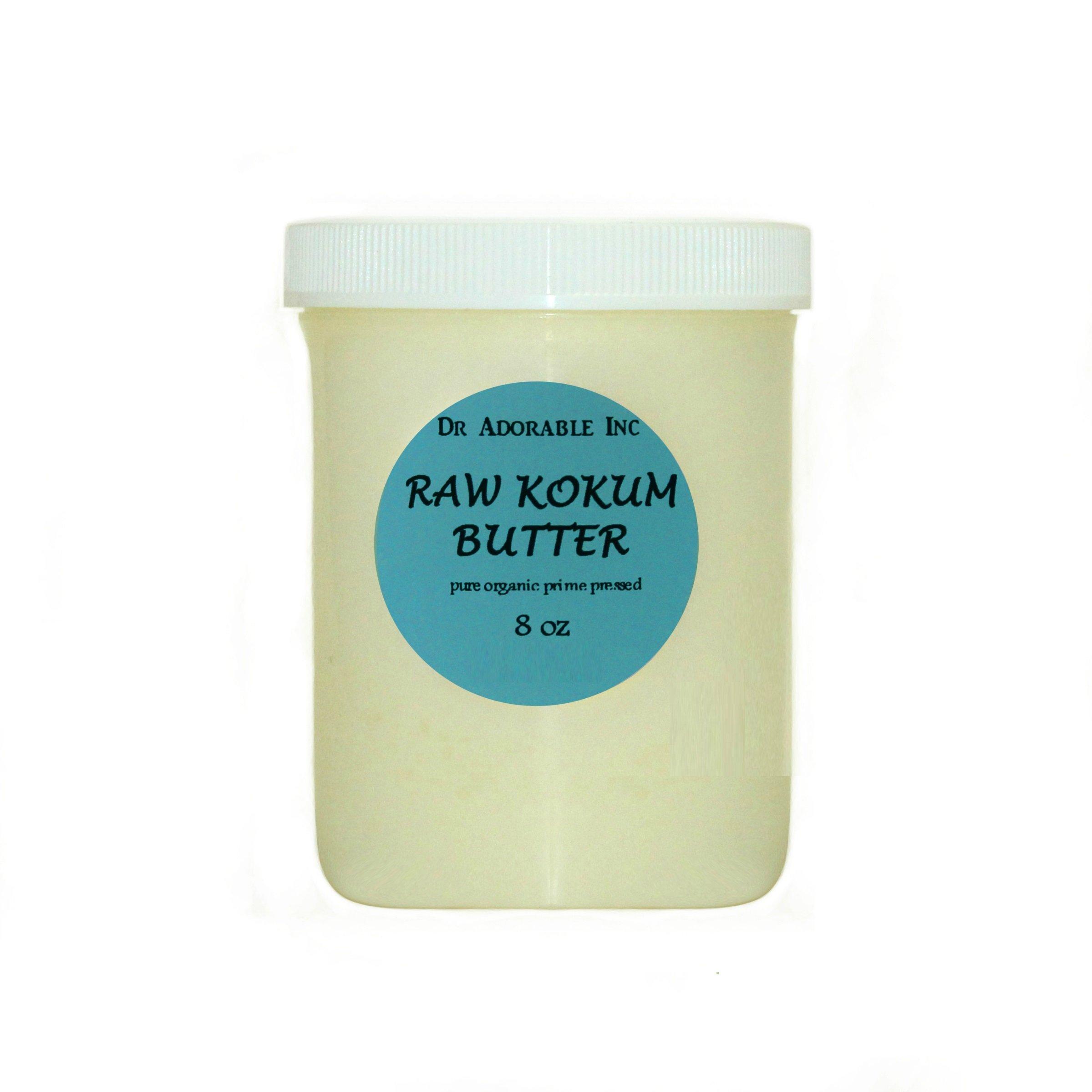 8 Oz Kokum Butter RAW Organic 100% Pure