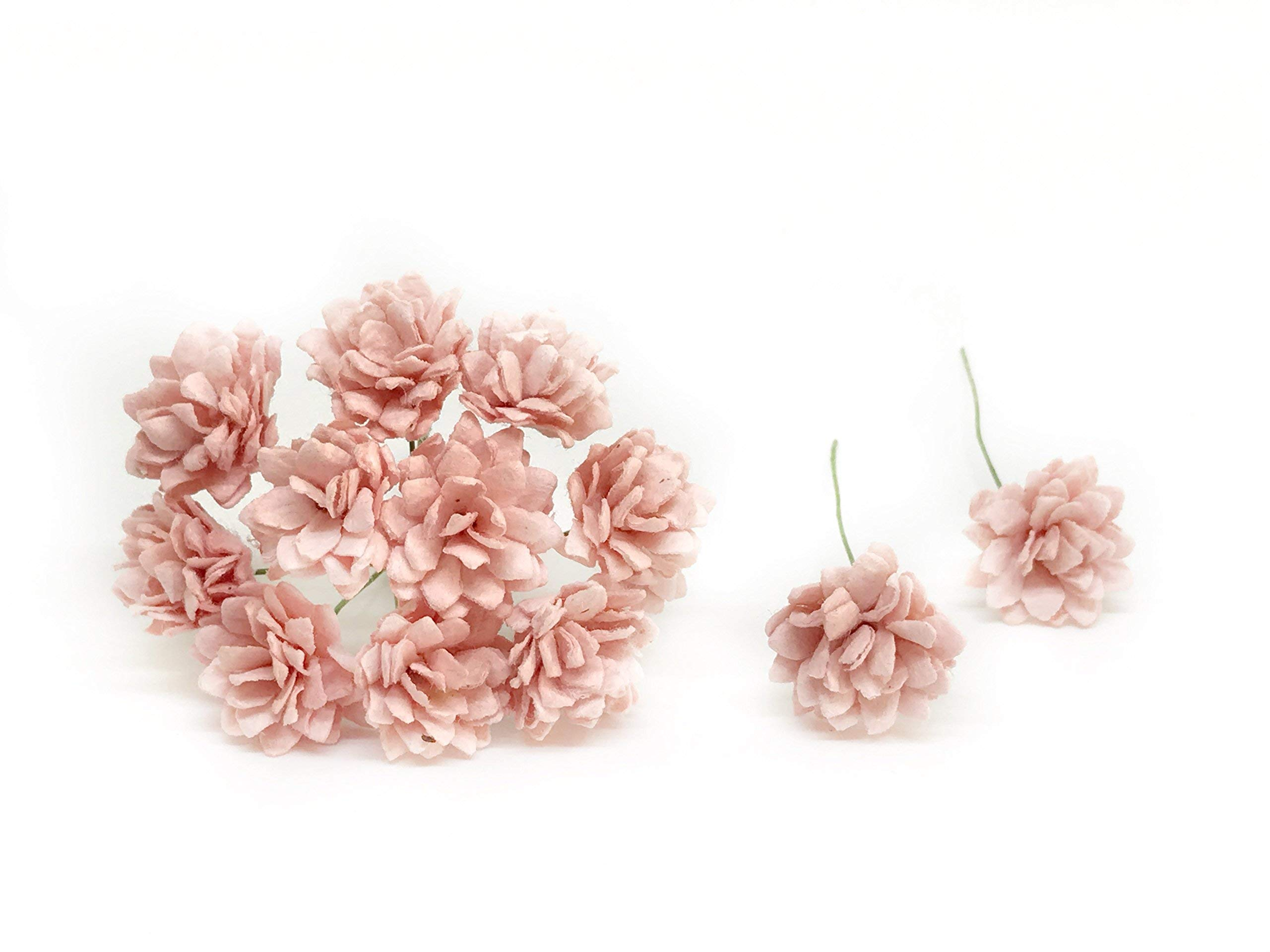 2cm-Light-Pink-Blush-Paper-Flowers-Babys-Breath-Artificial-Flowers-Fake-Flowers-Paper-Craft-Flowers-Mulberry-Paper-Flowers-50-Pieces