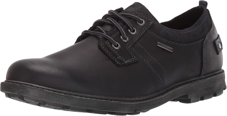 Rockport Northfield Men/'s Waterproof Shoes Plain Toe Leather Lace Up Oxfords