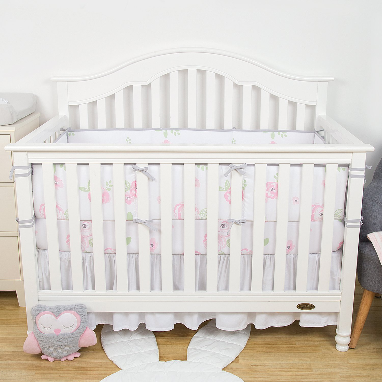 Baby Gund Crib Sheet Soft 100/% Premium Cotton Gray White Star