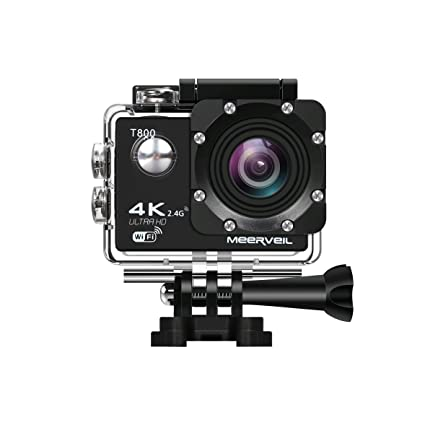 Amazoncom Meerveil 4k Action Camera Wifi Waterproof Sports Camera