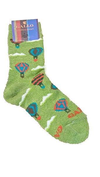 Calcetines Socks corta algodón ligero Niño Gallo l0978 C globos Multicolor LATTUGA