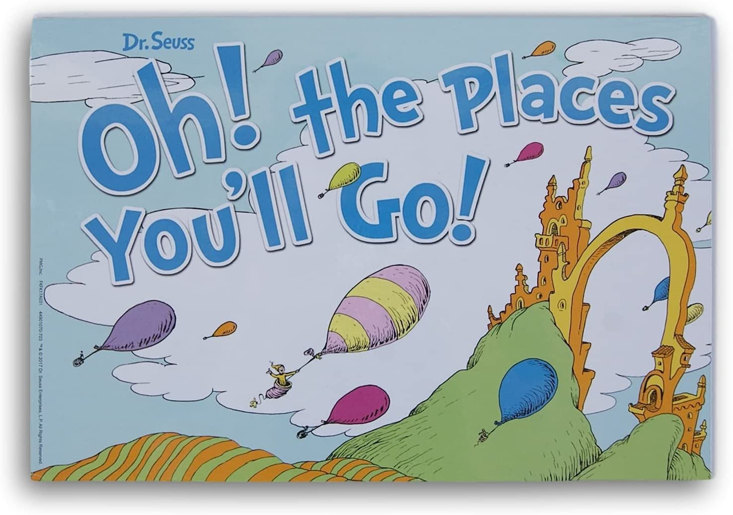 Seuss Oh The Places You/'ll Go Dr Paper Cut-Outs-36 Per Package-New In Package