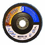 Mercer Industries 267080 Zirconia Flap Disc, High