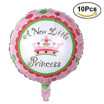 TOYMYTOY Folien Ballon 18 Zoll Kinder Helium Luftballon Krone Muster ...