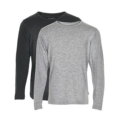 Minymo 3934 - Pack de 2 camisetas de manga larga para niño, para ...