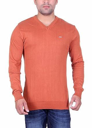 111c05aaea38 UPDATE Men s Cotton Acrylic Pullover (503-RUST-XXL