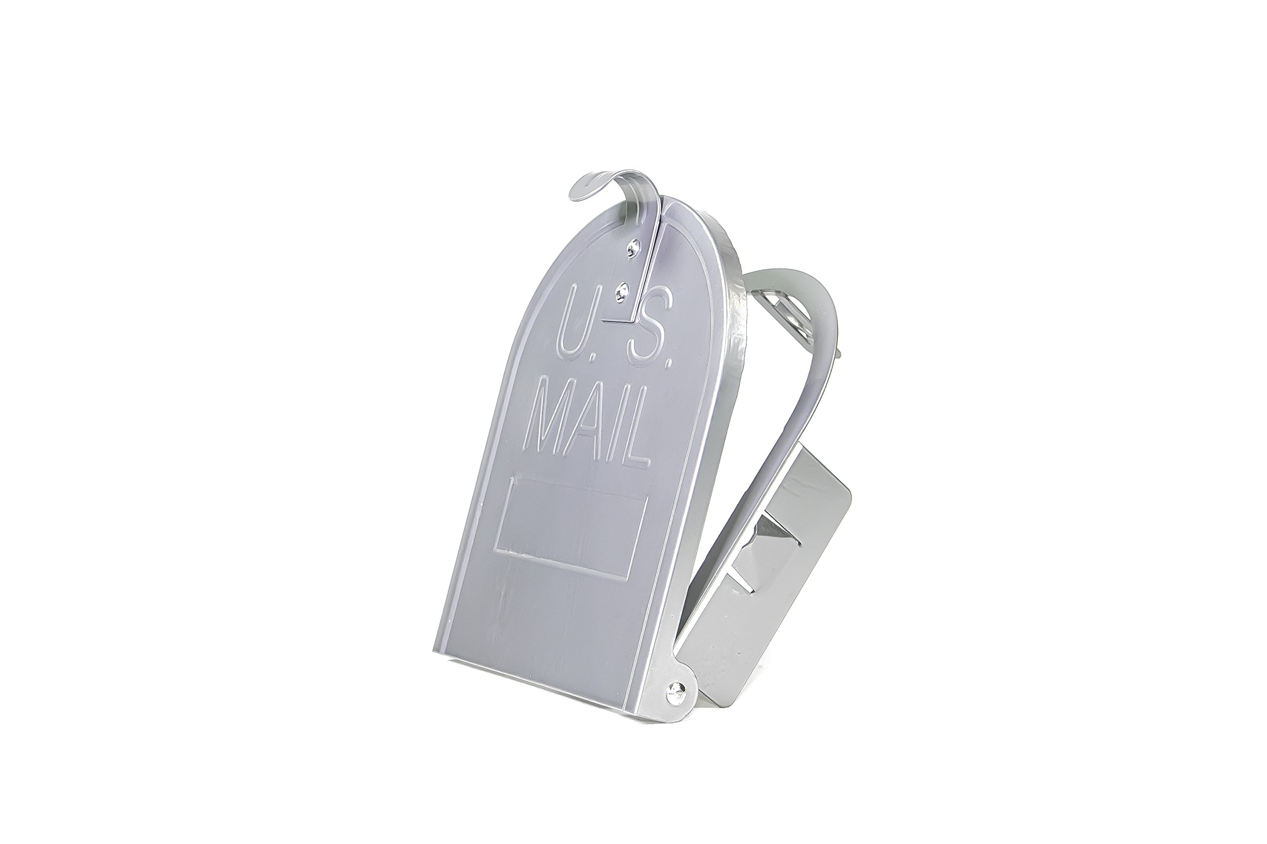 6 1/4 Inch (Width) by 8 Inch (Height) RetroFit ''Snap-In'' Mailbox Door Replacement - Natural Aluminum