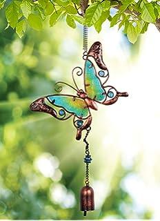 Glow In The Dark Fairy Bouncy Metal /& Glass Whimsical Garden Decor Sunset Vista