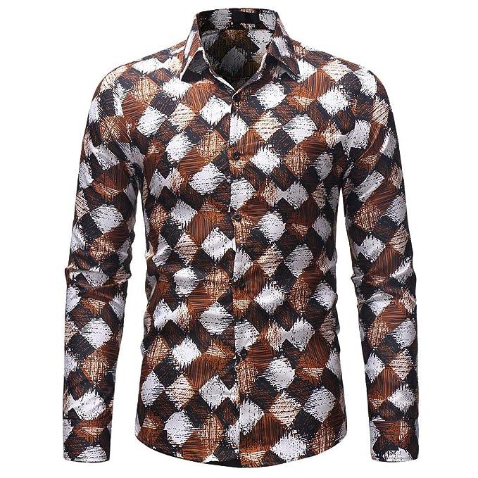 Camisa de Manga Larga de la Blusa de Manga Larga con Estampado de