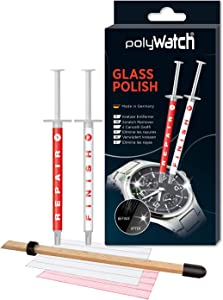 PolyWatch Glass Polish Glass Polish Scratch Remover Watch Glass Scratch Remover