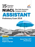 15 Practice Sets for NIACL - New India Assurance Company Limited - Assistant Preliminary Exam 2018