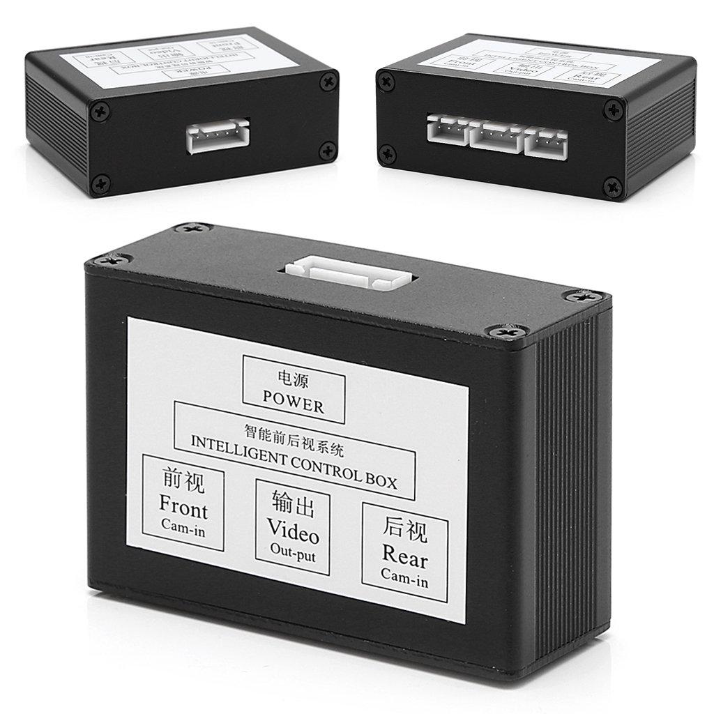 Imagen y v/ídeo c/ámara de 2 Ch para Coche Interruptor autom/ático haia7k4k Caja de Control Inteligente para Aparcamiento