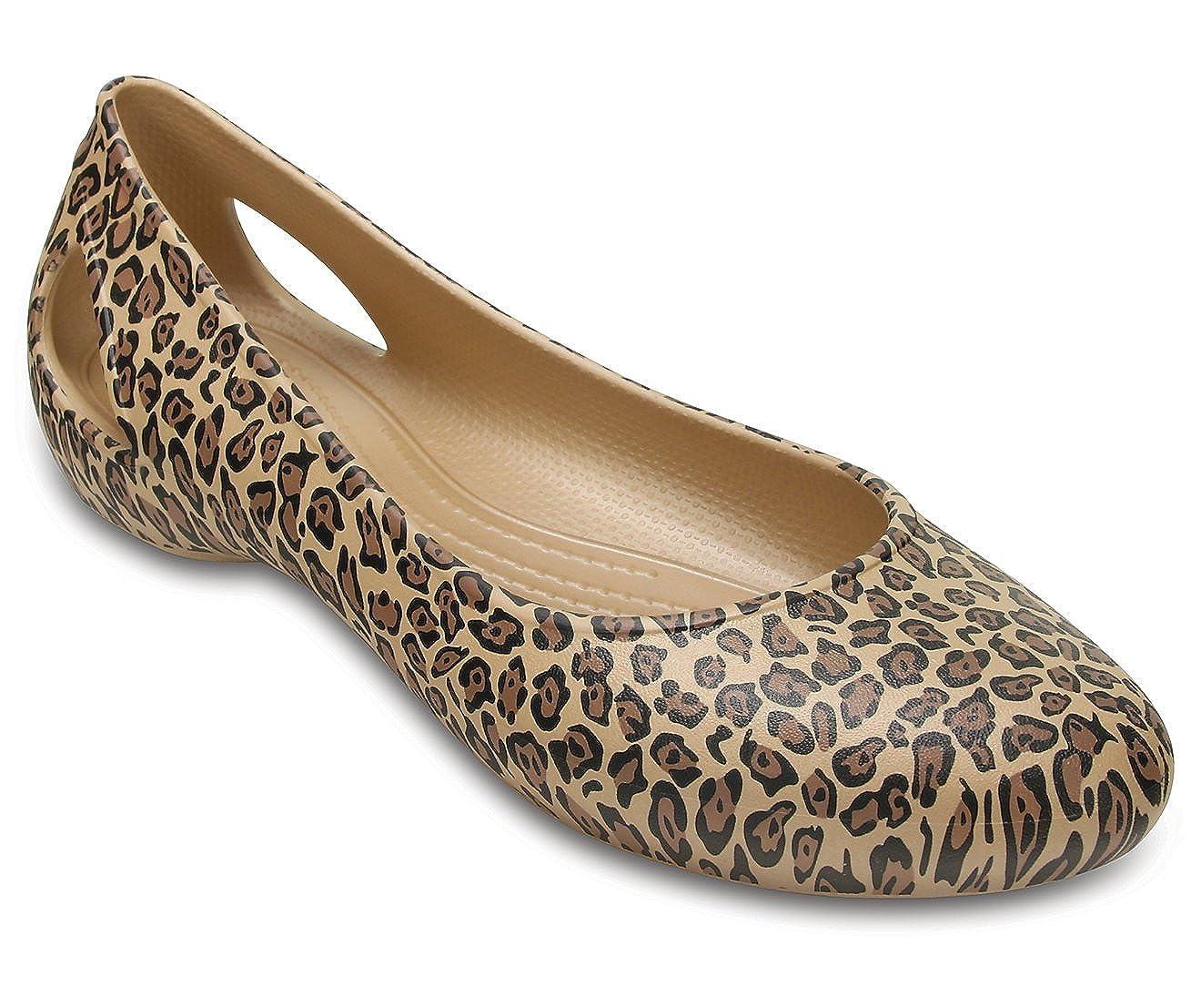 crocs Women's Rubber Ballet Flats
