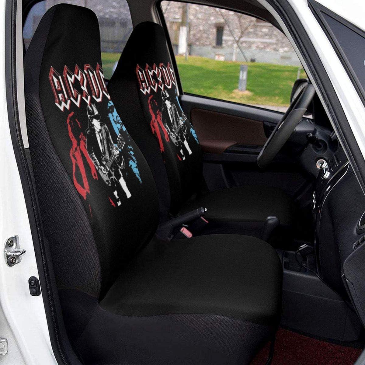 MoonW ACDC Universal Autositzbezug-Schutzkissen F/ür die meisten Autos Autositzkissen SUVs oder Van 1 PCS LKWs Autositzschutz