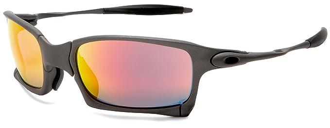 ab13fff78a Amazon.com  Oakley Men s X-Squared Metal Sunglasses