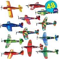 THE TWIDDLERS 48 Aviones planeadores de Papel