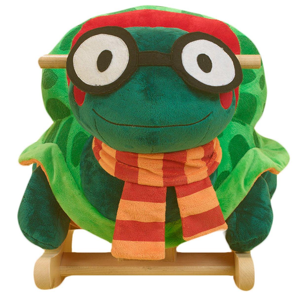 Amazon.com: Rockabye Sheldon la tortuga Rocker: Toys & Games