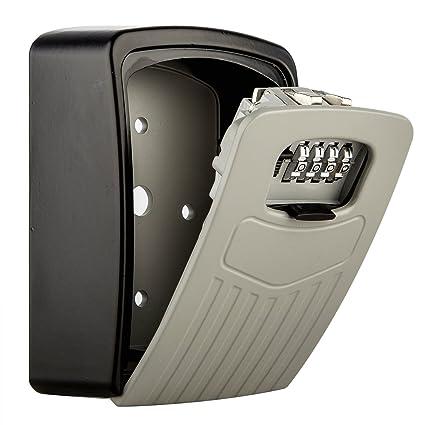 Diyife Key Lock Box - Caja de bloqueo de almacenamiento seguro con una fuerte cerradura de